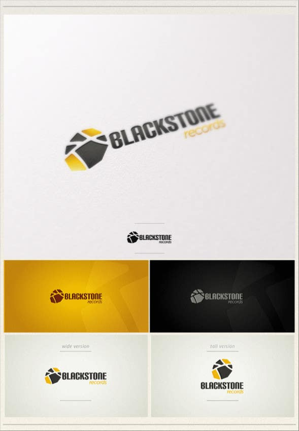 #25 for Logo Design for Blackstone Records by rugun