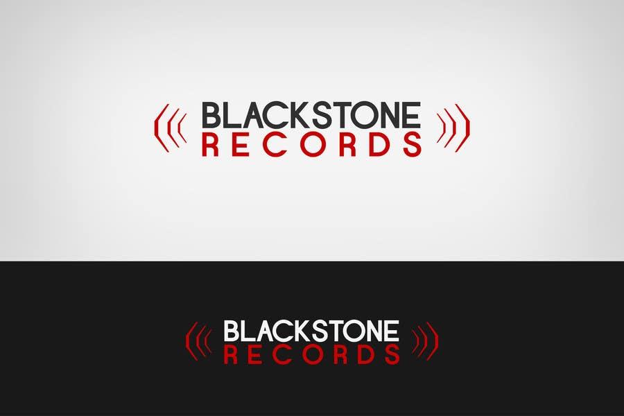 #73 for Logo Design for Blackstone Records by Lozenger