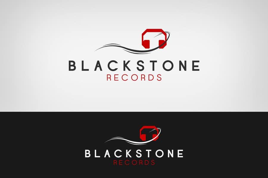#75 for Logo Design for Blackstone Records by Lozenger