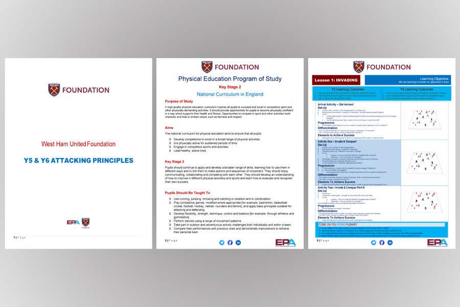 Penyertaan Peraduan #                                        11                                      untuk                                         Create a template for my soccer Scheme of work from my existing PDF to make look better