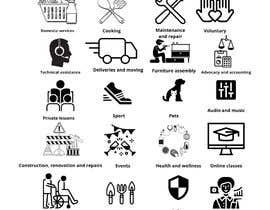 #5 for icons for service app af PedroMogli