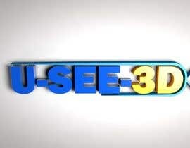 #27 for Brand name U-SEE-3D by SamiBaloach