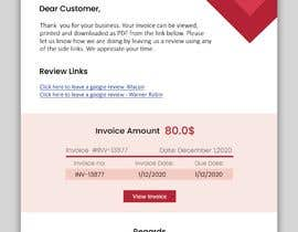 #15 for Inline CSS - HTML Contest - ShortCodes:  Simple Invoice Page by sadgirltory3330