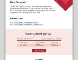 #15 untuk Inline CSS - HTML Contest - ShortCodes:  Simple Invoice Page oleh sadgirltory3330