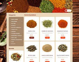 #15 for Design for a completely new online shop, selling spices -- 2 by jawidraiz