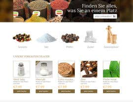 #3 para Design for a completely new online shop, selling spices -- 2 de cbastian19