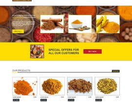 #14 para Design for a completely new online shop, selling spices -- 2 de Ankur0312