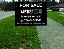 #54 untuk David Gonzalez - For Sale Sign oleh mdshifatsarkar