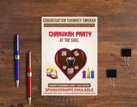 #102 untuk Design a Flyer for a Chanukah Party oleh jannatart