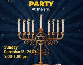 #95 untuk Design a Flyer for a Chanukah Party oleh designerinan