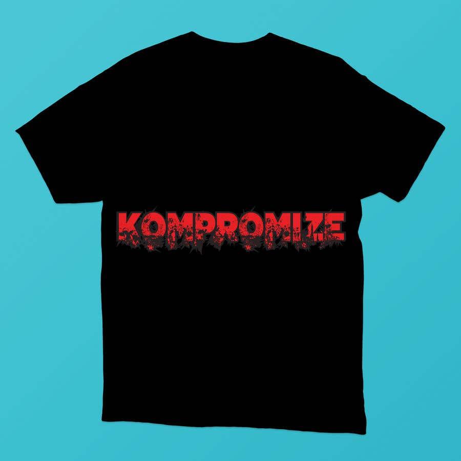 Penyertaan Peraduan #                                        38                                      untuk                                         Kompromize Logo and T-shirt Design