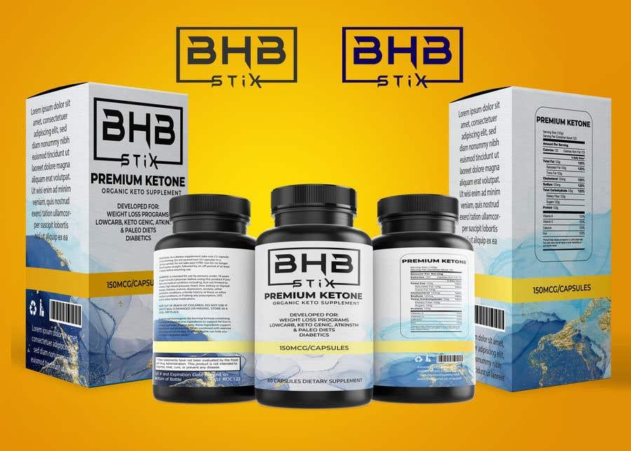 Penyertaan Peraduan #                                        218                                      untuk                                         BHBStix Logo and packaging design.