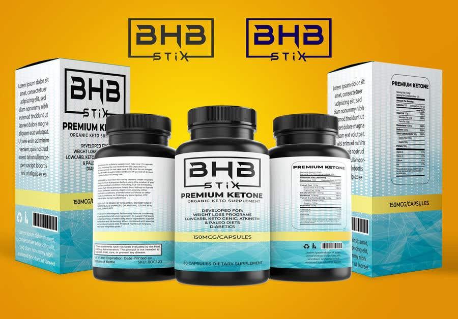 Penyertaan Peraduan #                                        219                                      untuk                                         BHBStix Logo and packaging design.