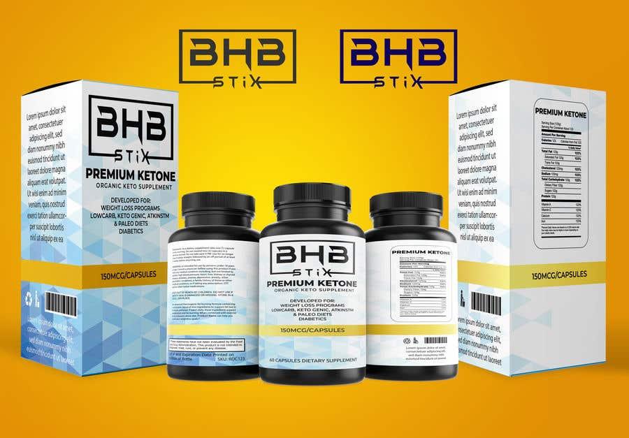Penyertaan Peraduan #                                        220                                      untuk                                         BHBStix Logo and packaging design.