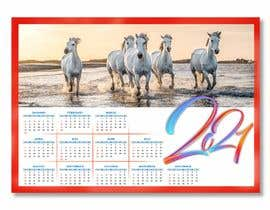 #39 for Calendar for 2021 by roy2100