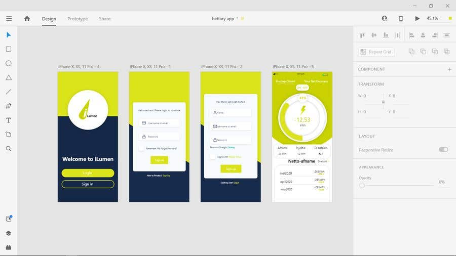 Penyertaan Peraduan #                                        7                                      untuk                                         Dashboard UI of EV Charger App