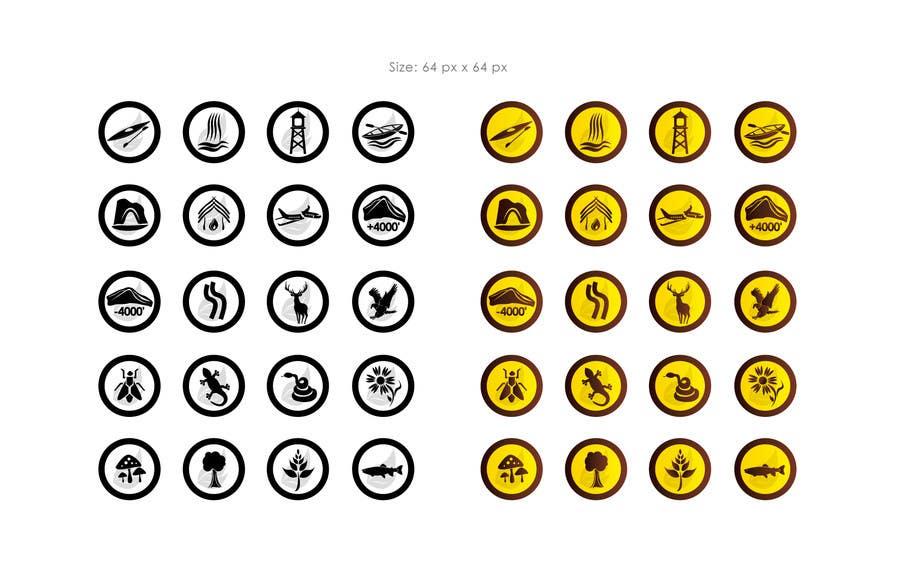 Inscrição nº                                         15                                      do Concurso para                                         Website logos and icons