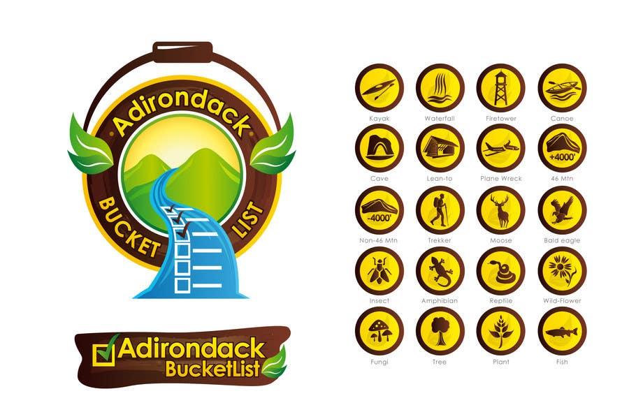 Inscrição nº                                         18                                      do Concurso para                                         Website logos and icons