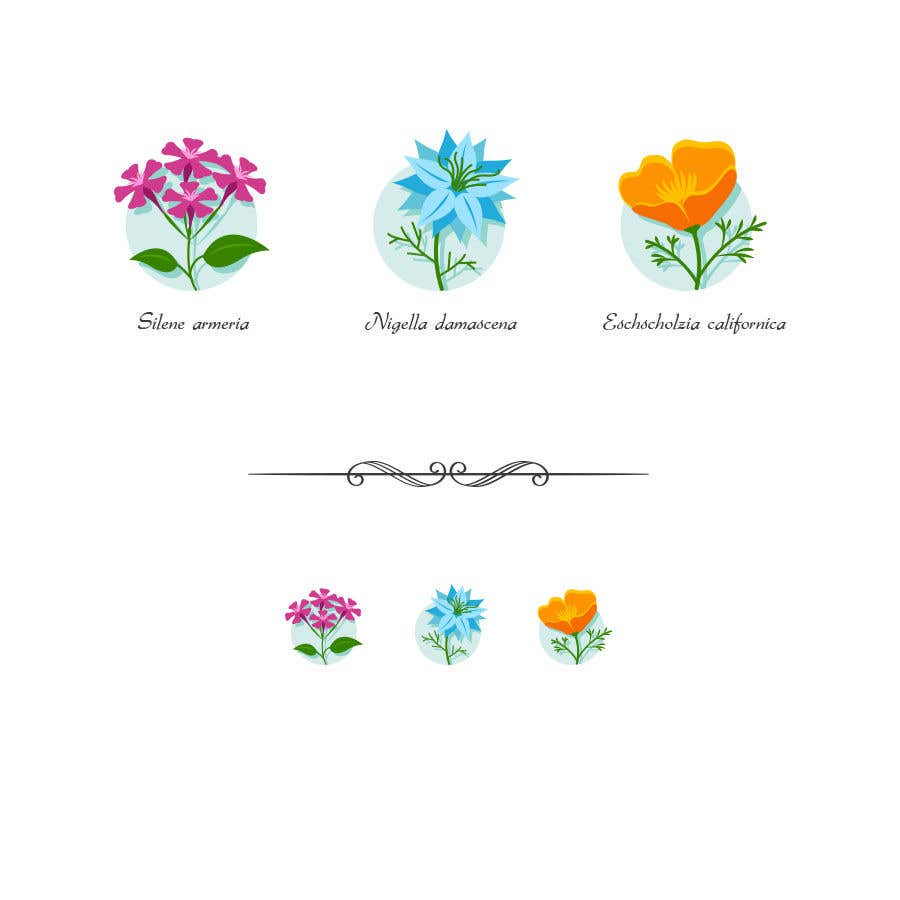 Contest Entry #                                        58                                      for                                         Vector Flower Icons