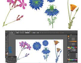 #29 for Vector Flower Icons by graphicalbabu