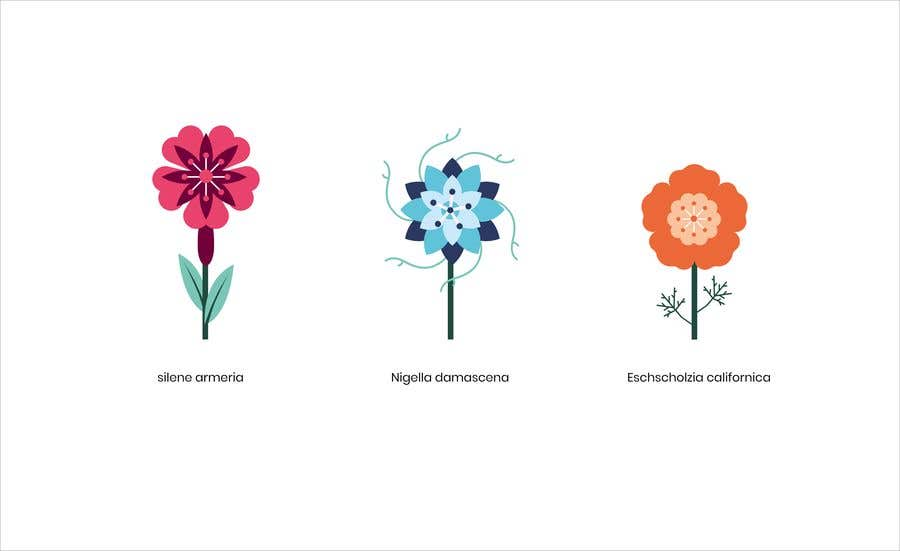 Contest Entry #                                        68                                      for                                         Vector Flower Icons