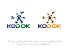#1059 untuk Design a logo for an Artificial Intelligence software product on cloud called KoDoK AI oleh mihonsheikh03