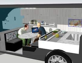 #7 untuk Interior design (Artist impression) for a Car (Van) oleh helmath
