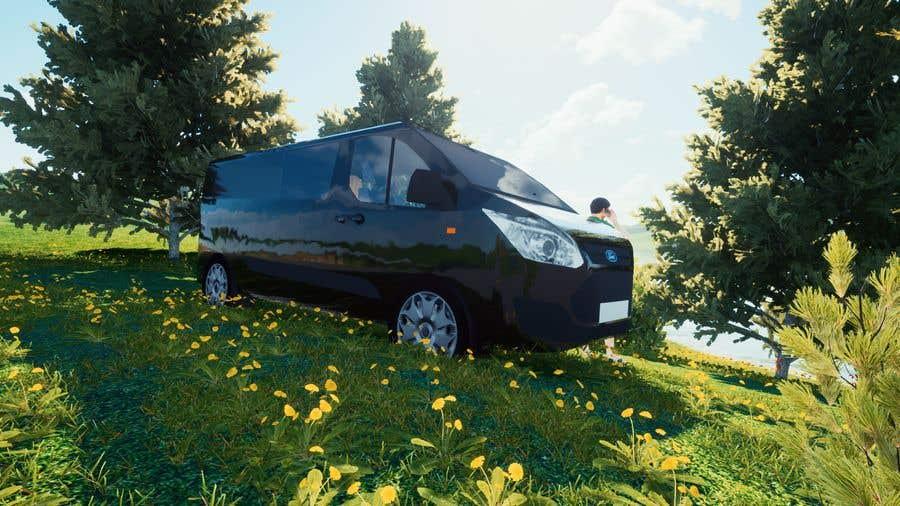 Penyertaan Peraduan #                                        3                                      untuk                                         Interior design (Artist impression) for a Car (Van)