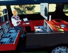 #6 untuk Interior design (Artist impression) for a Car (Van) oleh KDezign