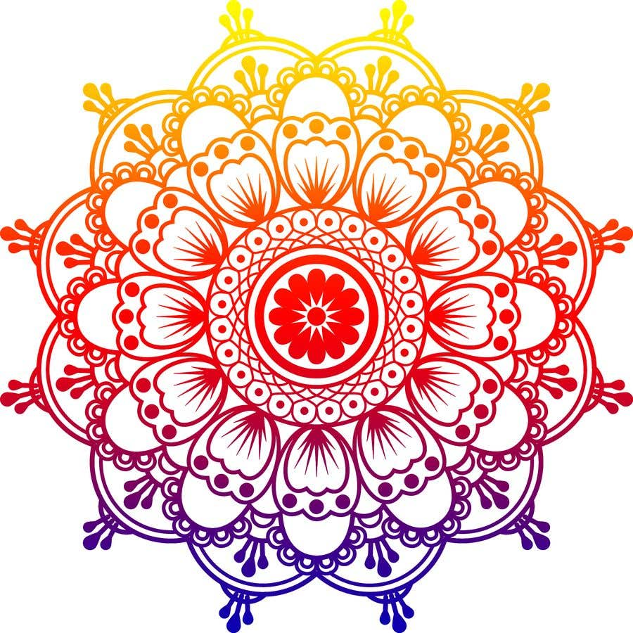 Penyertaan Peraduan #                                        4                                      untuk                                         I need the below mandalas colored interior, and lines if needed. All 15.  if the job is good i will provide more work for youq