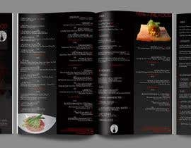 #32 for Design a Restaurant Menu for Modern Japanese Restaurant by sandrasreckovic