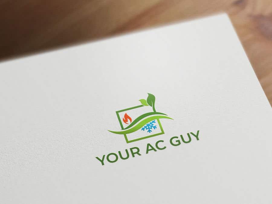 Bài tham dự cuộc thi #                                        77                                      cho                                         Air conditioner company logo (Your AC GUY)
