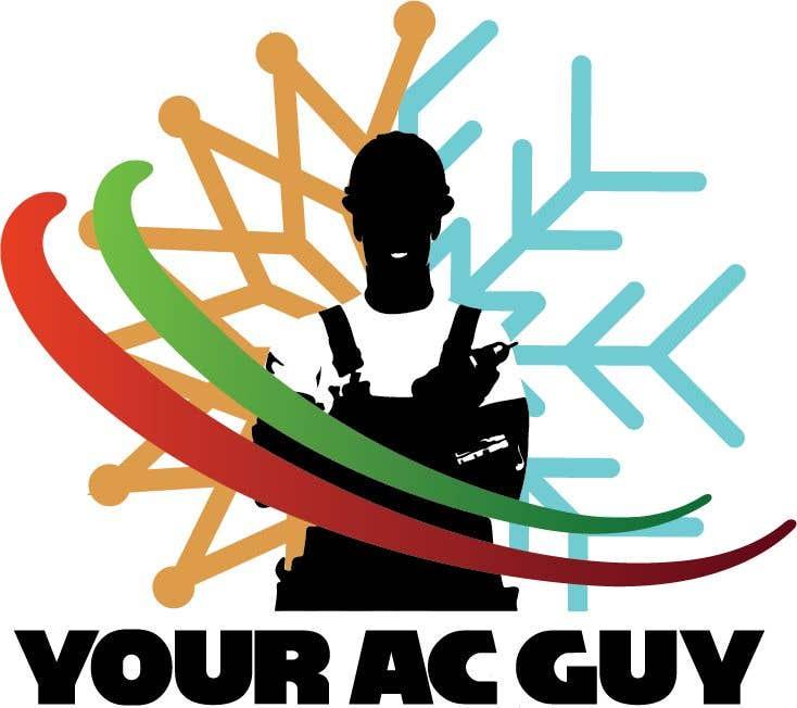 Bài tham dự cuộc thi #                                        224                                      cho                                         Air conditioner company logo (Your AC GUY)