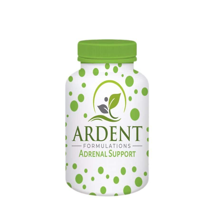 Penyertaan Peraduan #                                        12                                      untuk                                         Supplement Bottle Design (front)