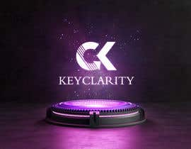 "#210 для I need a logo for ""Keyclarity"". My initials are CK if u can put CK on top of each other But also include the entire name ""Keyclarity"". use the corlors blue and green and a neutral color like black or white. include something that represents clarity от MoElnhas"