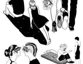 """nº 70 pour Draw a creative Illustration / """"The Lovers"""" par kayps1"""