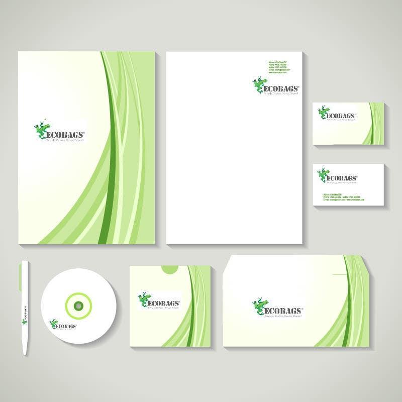 Penyertaan Peraduan #6 untuk Business card, letterhead, document folder -- 2