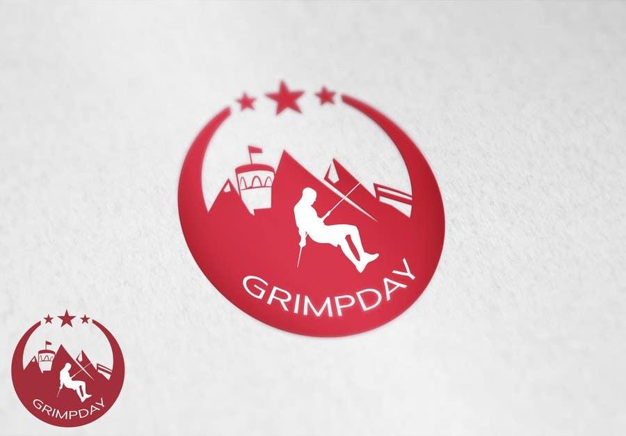 Konkurrenceindlæg #                                        21                                      for                                         Logo for the Grimpday an firemen organisation