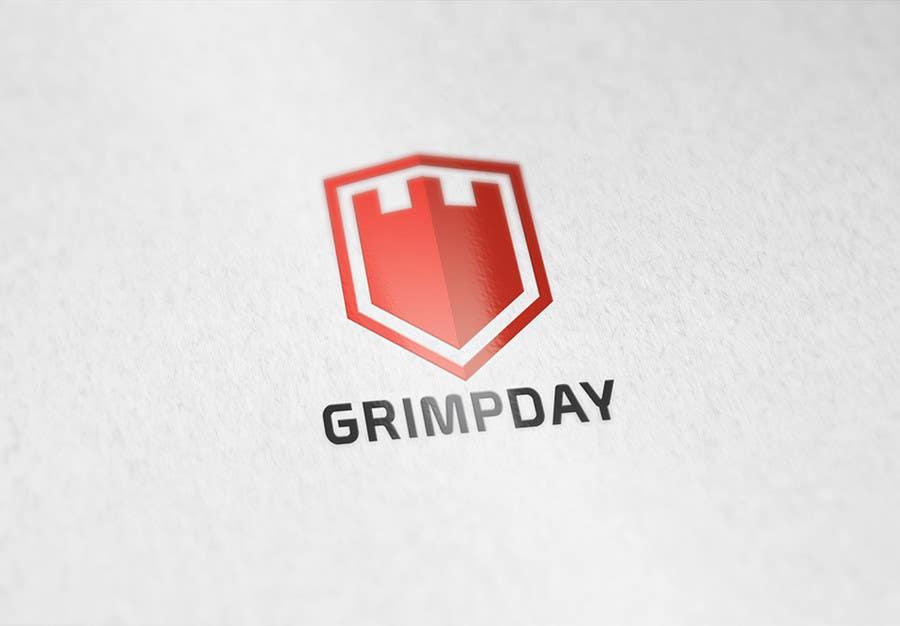 Konkurrenceindlæg #                                        8                                      for                                         Logo for the Grimpday an firemen organisation