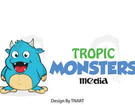 TNART tarafından Design a Cartoon Monster for a Media Company için no 79