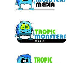 level08 tarafından Design a Cartoon Monster for a Media Company için no 50