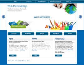 #5 para Website Design for IT Company por santanubera9