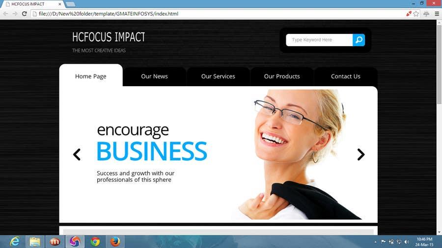 Konkurrenceindlæg #                                        2                                      for                                         Design a website Mockup for wordpress
