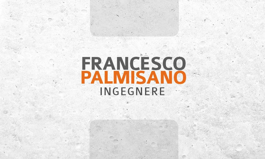 Konkurrenceindlæg #                                        12                                      for                                         Business Card Design for francesco palmisano ingegnere