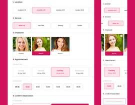 #12 for [Design clickable] - reservation panel for beauty salon by souhail5