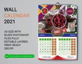 #26 for create a 2021 calendar for print by Shamimhaque17