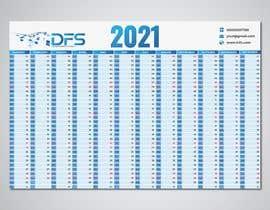 #21 for create a 2021 calendar for print by samiabaly116