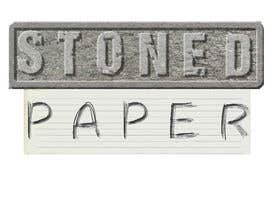 #39 for Design My Logo for STONED PAPER and PEN PANTHER by shwetharamnath