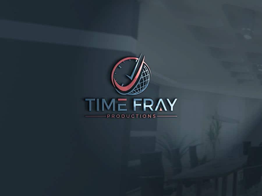 Penyertaan Peraduan #                                        53                                      untuk                                         Time Fray Productions Logo