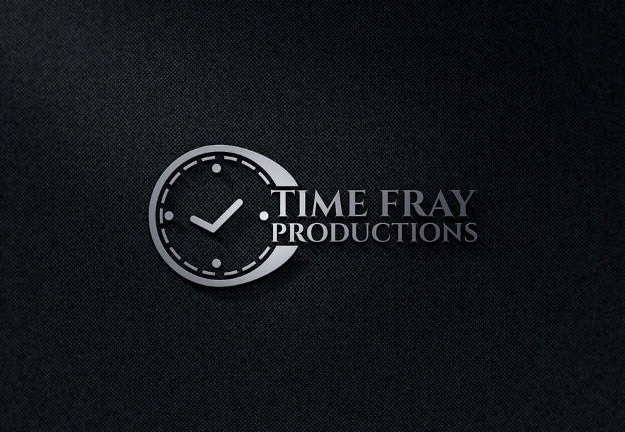 Contest Entry #                                        286                                      for                                         Time Fray Productions Logo
